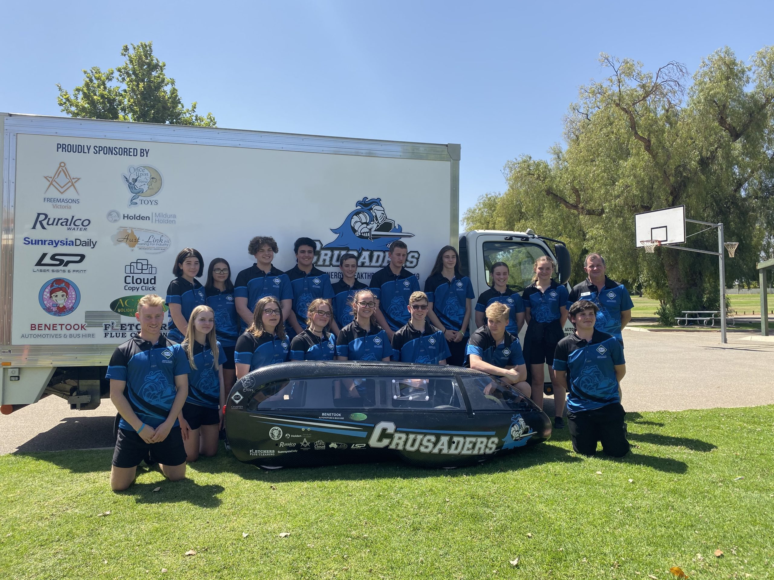 Chaffey Secondary College – Energy Breakthrough Team 2019